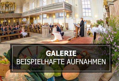 Galerie - Beispielhafte Hochzeitsfotos