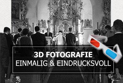3D Fotografie zur Hochzeit