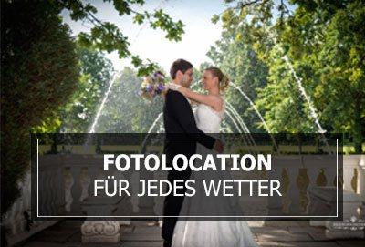 Hochzeit Fotolocation für jedes Wetter